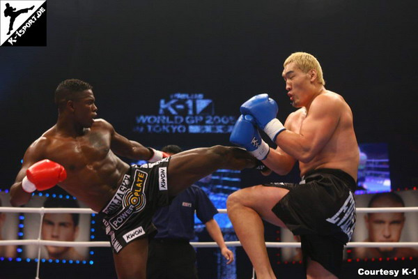 Remy Bonjasky, Hong-man Choi (K-1 WORLD GRAND PRIX 2005 FINAL)