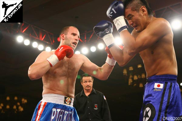Alexander Pitchkounov, Tsuyoshi Nakasako (K-1 World Grand Prix 2007 in Las Vegas)